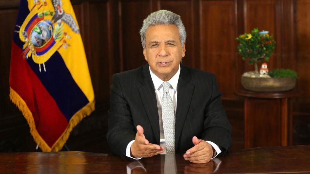 """Moreno enviará un proyecto de ley para defender """"empleo y dolarización"""""""