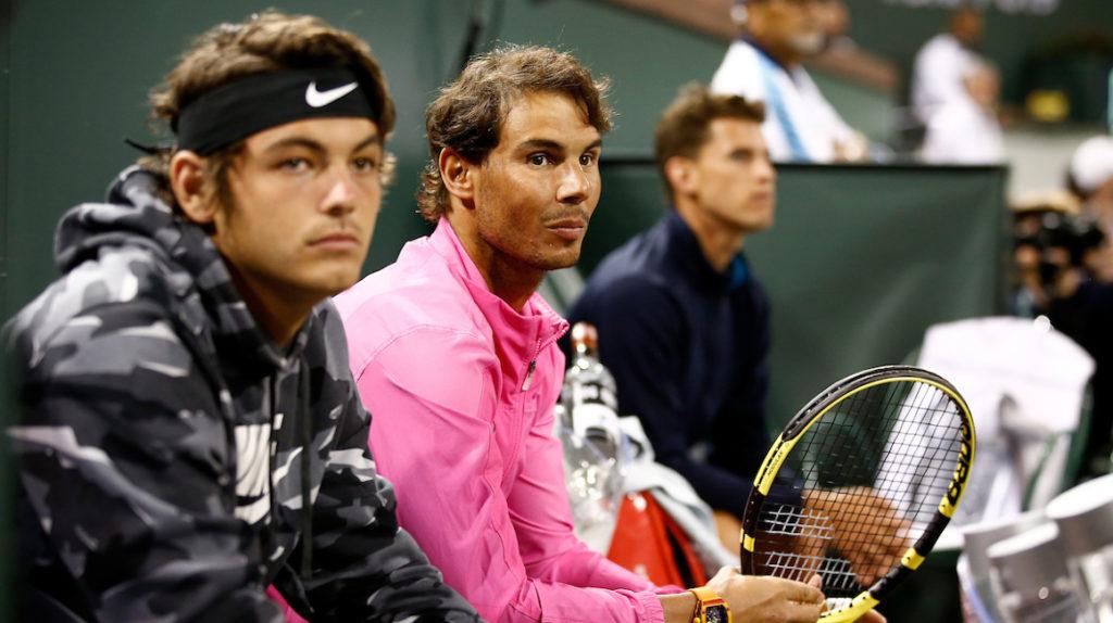 Rafael Nadal, preocupado por el futuro del Indian Wells