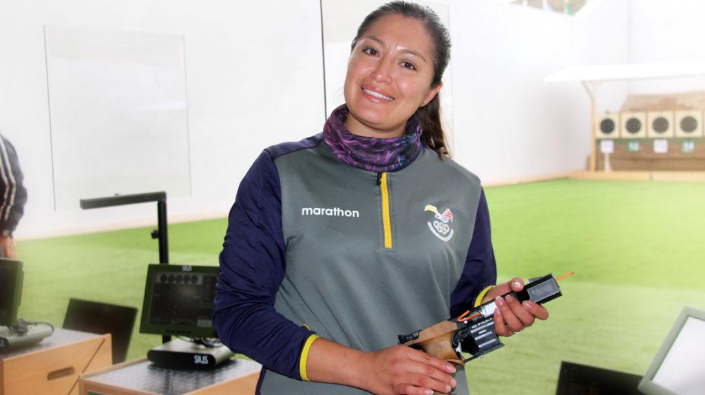 Diana Durango es capitán de las Fuerzas Armadas y competirá en Tokio