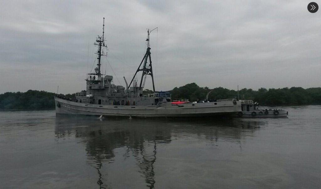 Terminó la cuarentena de la tripulación del buque Chimborazo