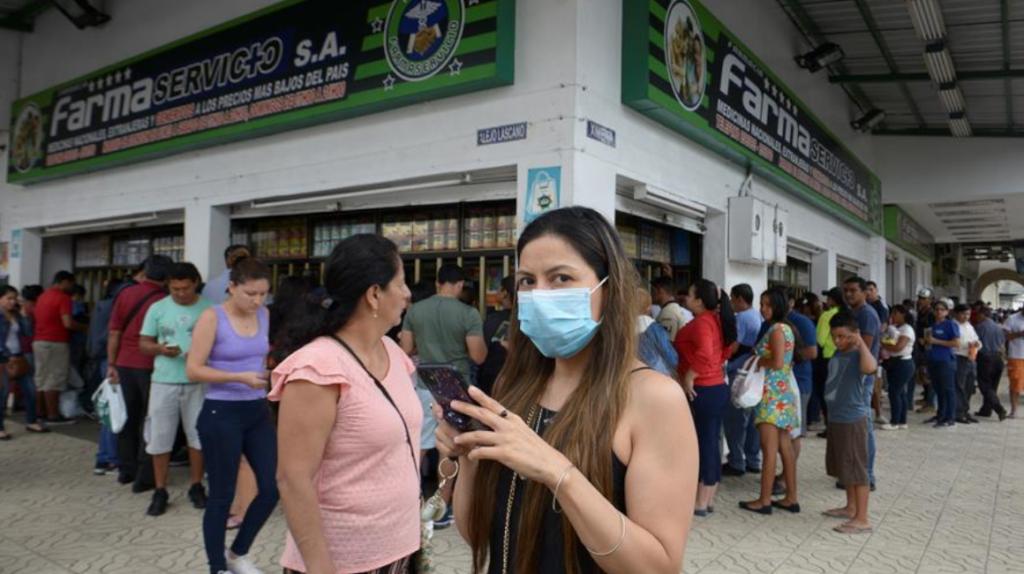 Extranjero con coronavirus sigue bajo pronóstico reservado