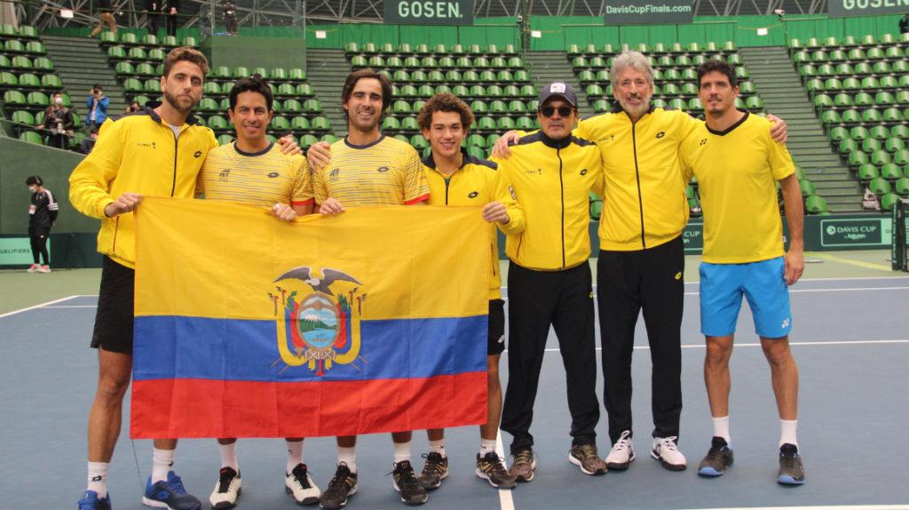 Ecuador vence a Japón en dobles y entra al Grupo Mundial de Copa Davis