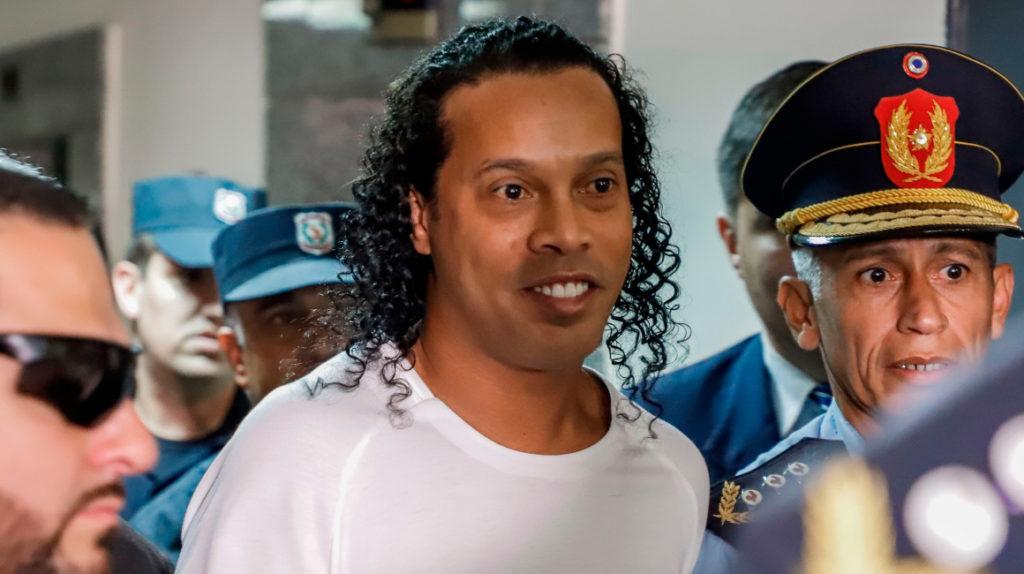 Ronaldinho consigue un acuerdo con la justicia paraguaya
