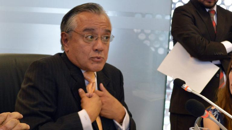 Alexis Mera, exsecretario jurídico de la Presidencia, en una reunión de la Comisión de Régimen Económico de la Asamblea, en 2015.