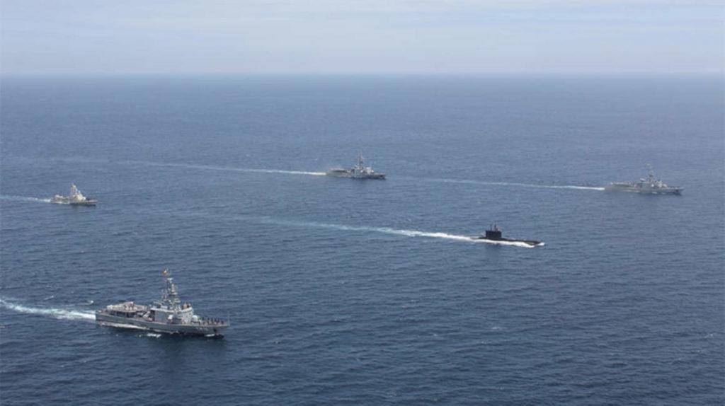 50 tripulantes de un buque de la Armada, en cuarentena por coronavirus