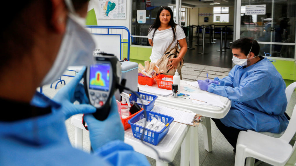 Paciente extranjero con coronavirus fue trasladado a un hospital