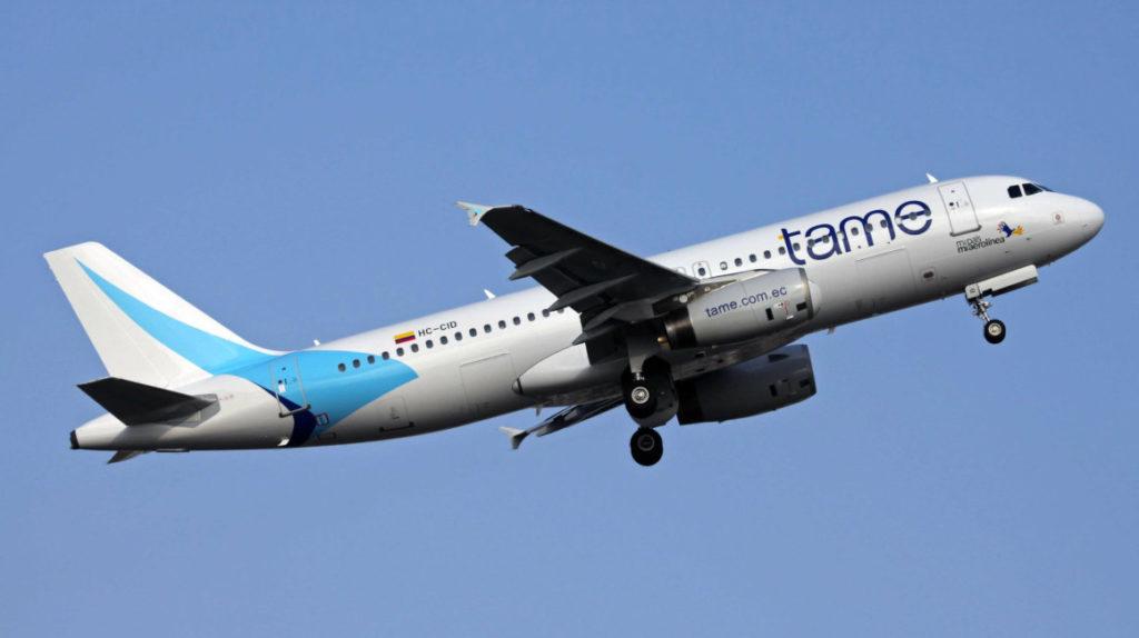 Tame reanuda sus vuelos hacia Fort Lauderdale
