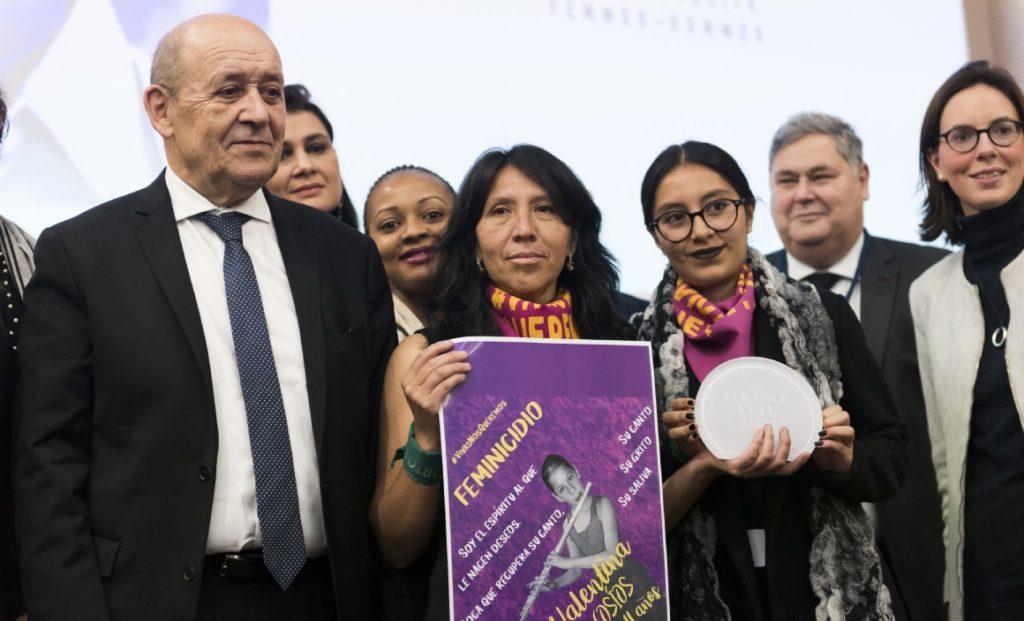 Plataforma 'Vivas nos queremos' gana importante premio en Francia