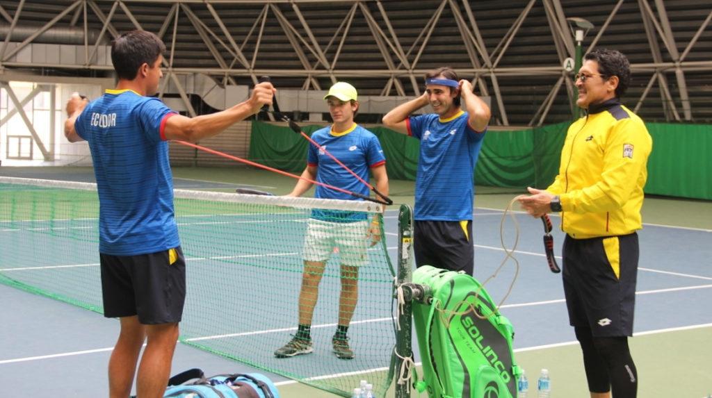Emilio Gómez será la raqueta uno de la serie de Copa Davis ante Japón
