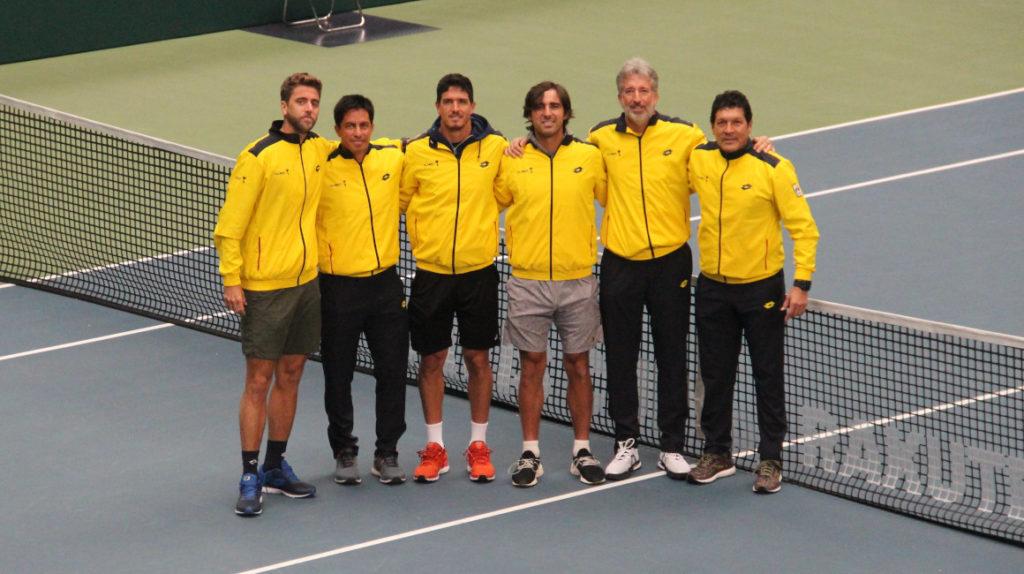 El equipo ecuatoriano de Copa Davis ya entrenó en Miki, Japón