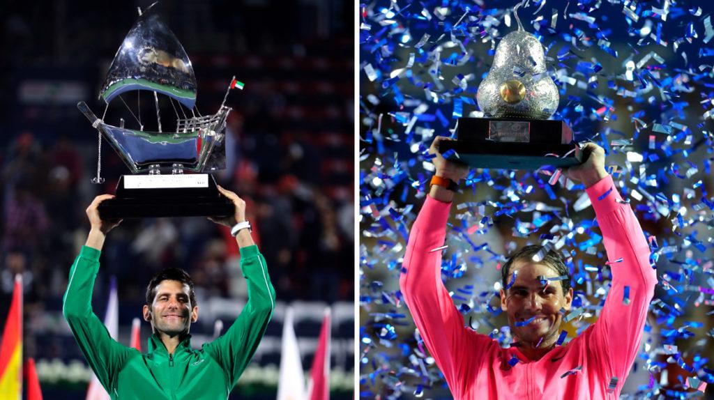 Djokovic extiende su diferencia con Nadal en el ranking ATP