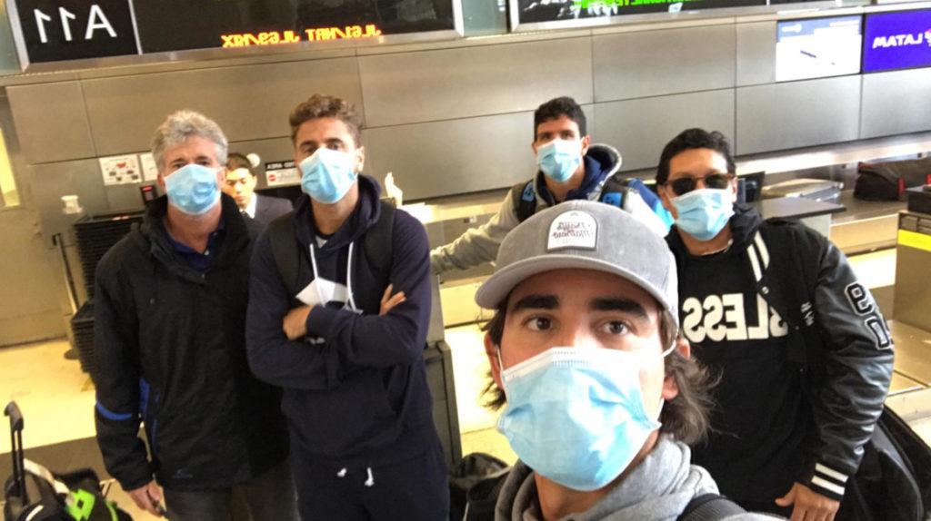 El equipo ecuatoriano de Copa Davis ya está en Japón