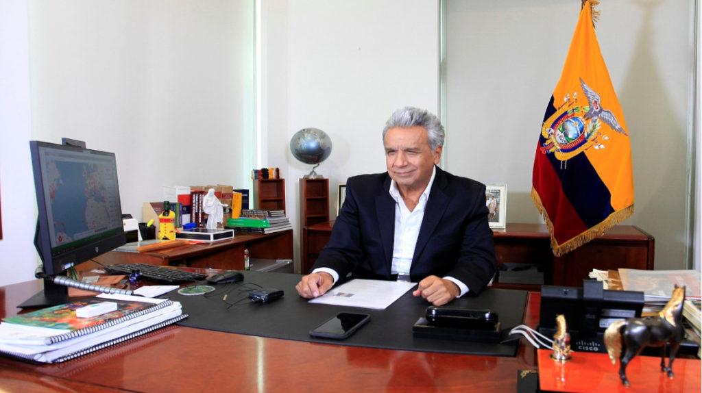 Presidente Moreno anuncia programa de alimentación para afrontar la emergencia