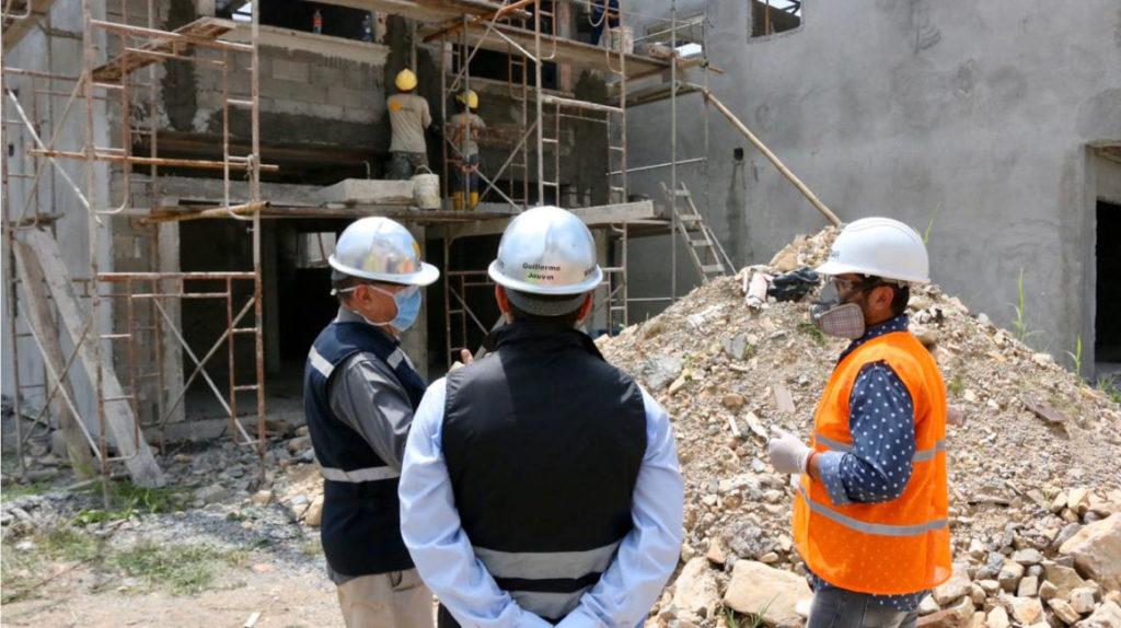 71 proyectos de la construcción se han reactivado durante la emergencia