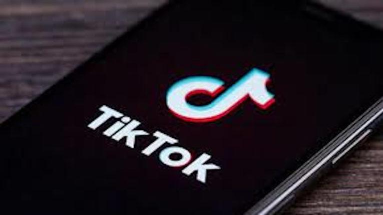 Ícono de la plataforma de videos TikTok propiedad de ByteDance.