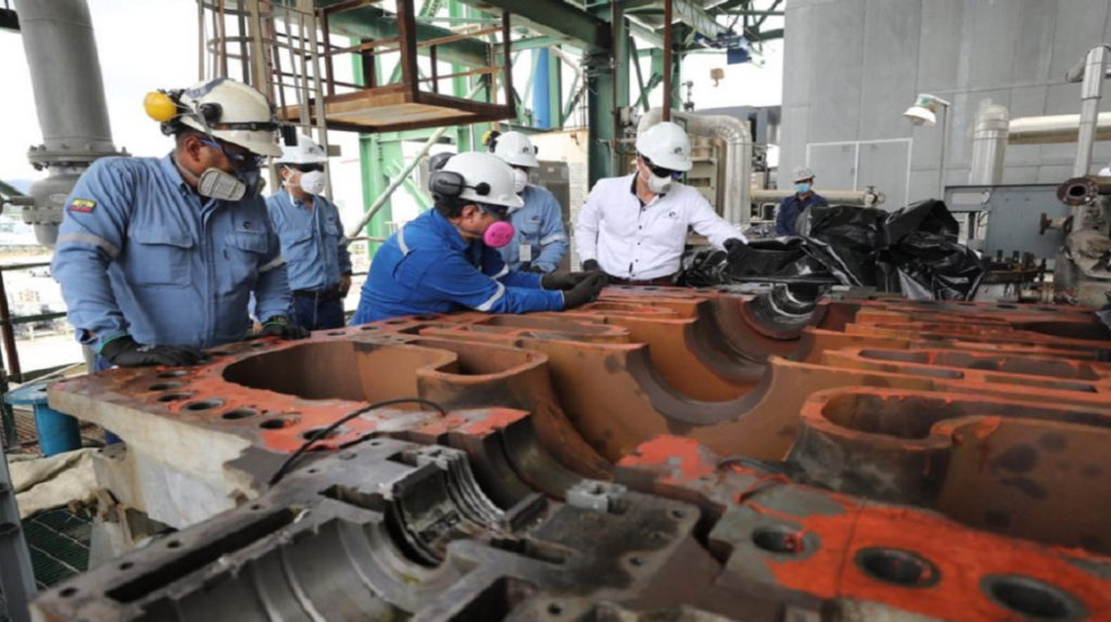 Ecuador levanta la Fuerza Mayor y reactiva las operaciones petroleras