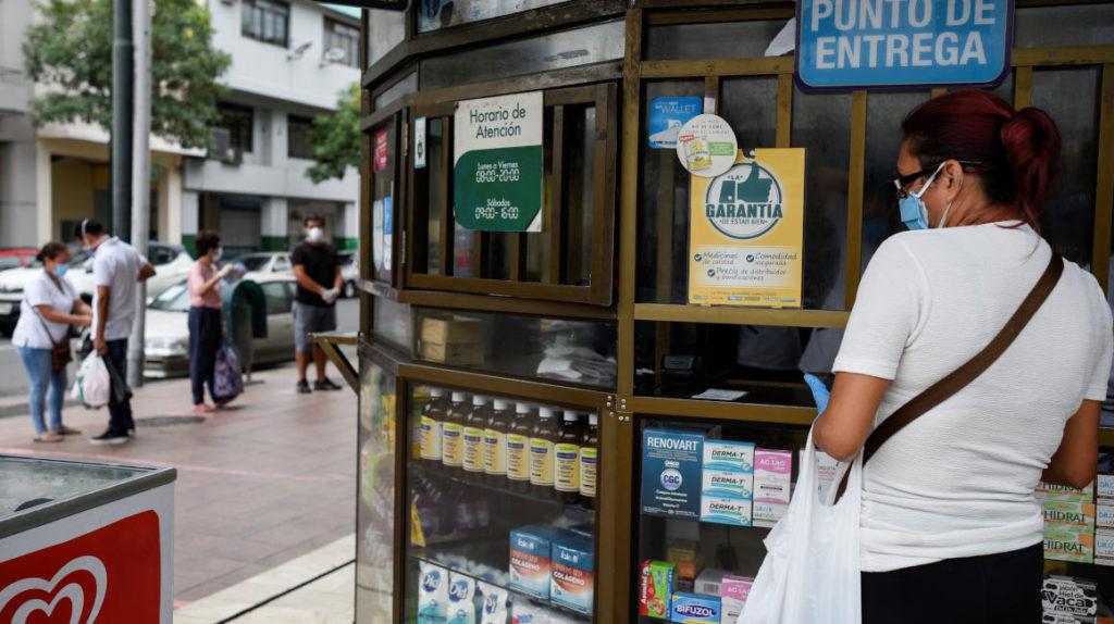 La venta de productos farmacéuticos crece un 7% por la pandemia