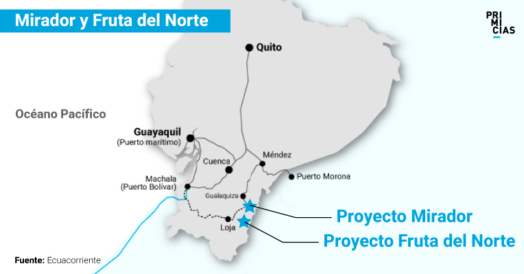 El plan gubernamental contempla la protección de los ciudadanos que están en la ruta entre las minas y los puertos.