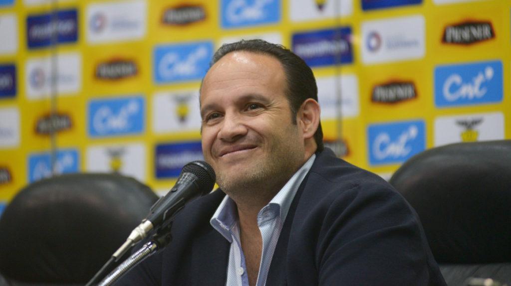 Francisco Egas fue ratificado como presidente de la FEF