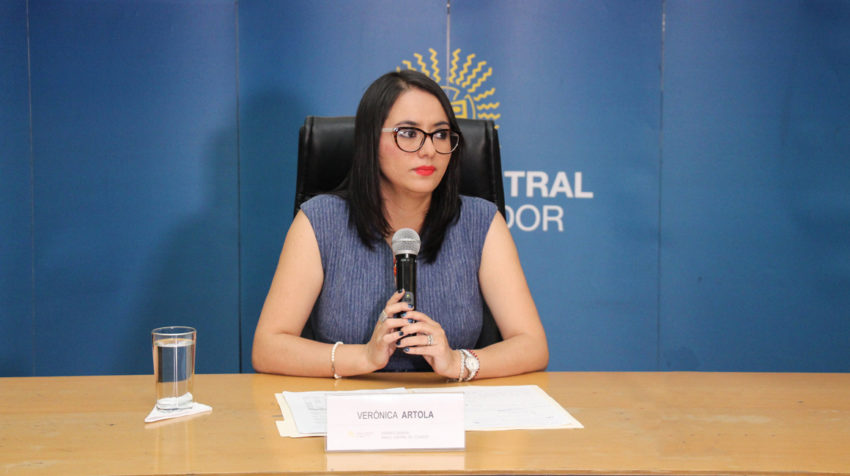 Imagen referencial. Verónica Artola, gerente del Banco Central.