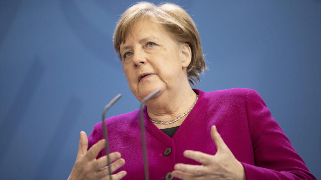 Angela Merkel advierte los efectos del Covid-19 frente a la pobreza