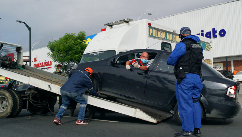 Guayaquil alcanza récord en la retención de vehículos