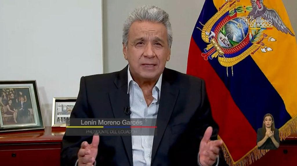 """Lenín Moreno: """"Ecuador enfrenta el momento más crítico de su historia"""""""