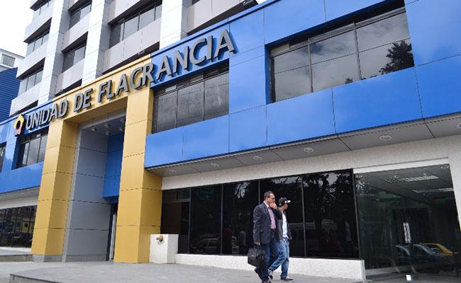 La Unidad de Aseguramiento Transitoria se encuentra en las instalaciones de la Unidad de Flagrancia, en el centro norte de Quito.