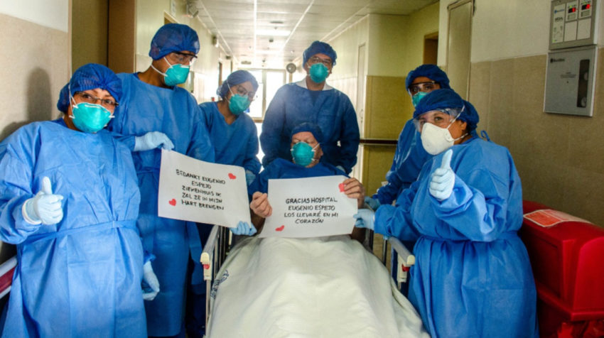Ana María Díaz fue parte del grupo de médicos que atendieron al paciente holandés que contrajo coronavirus en Ecuador.