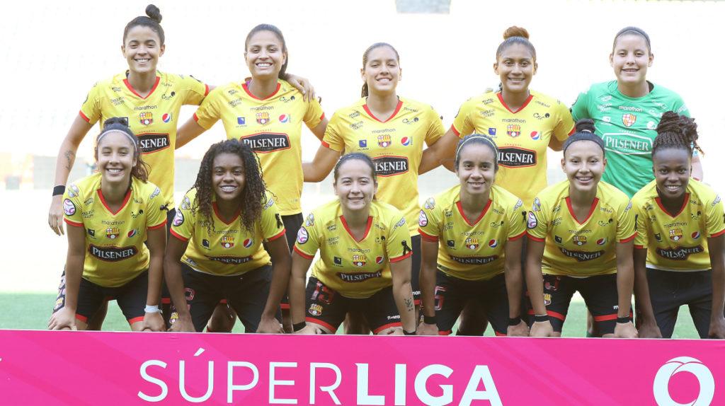 Barcelona y Emelec estarán en el grupo 4 de la Superliga femenina