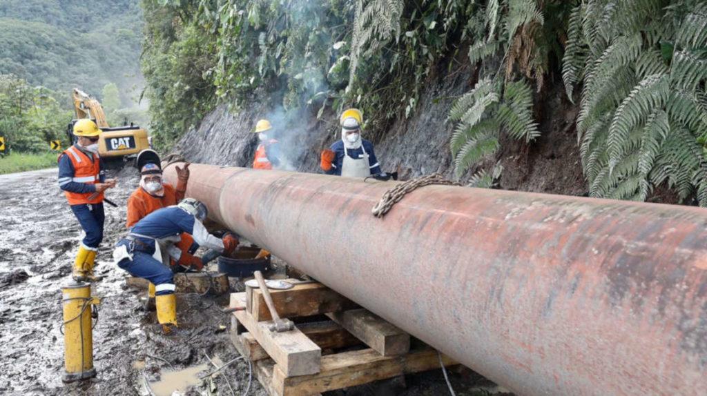 Petróleo: erosión en río Coca lleva a Ecuador a declarar fuerza mayor