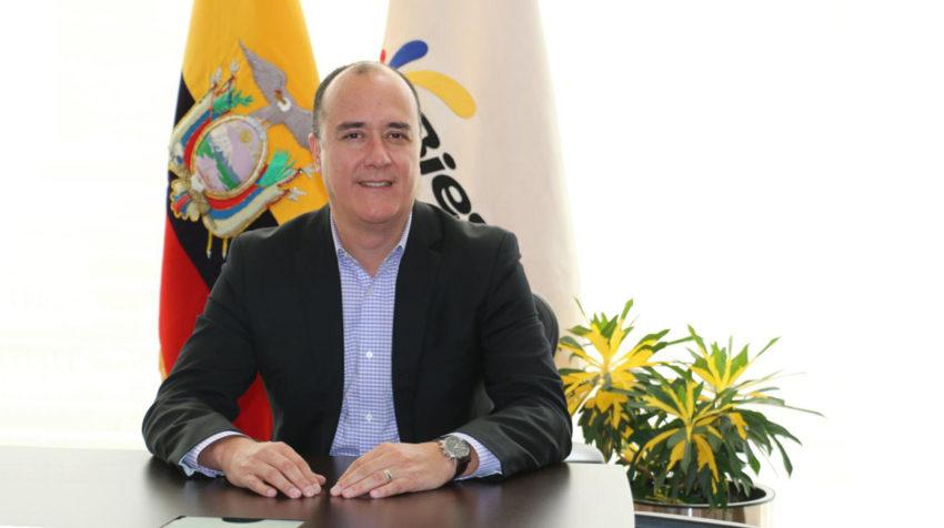 Vinicio Troncoso, gerente general del BIESS.