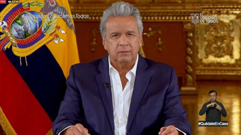 Lenín Moreno cadena 10 abril