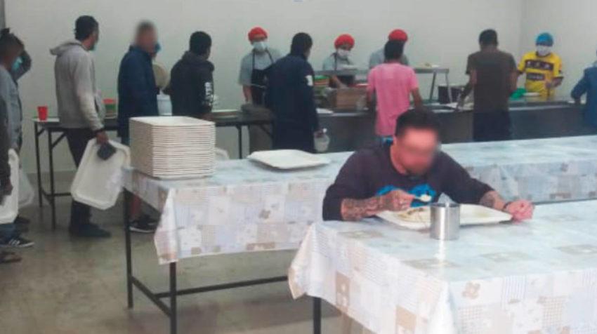 Una de las disposiciones para los  directores de los centros penitenciarios fue que verifiquen las porciones y calidad de alimentos, haciendo énfasis en la asepsia.