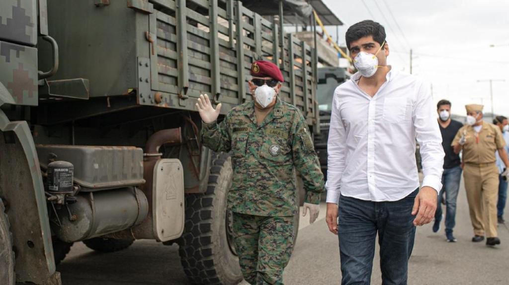 Vicepresidente: La cifra de fallecidos en marzo en Guayas es alarmante