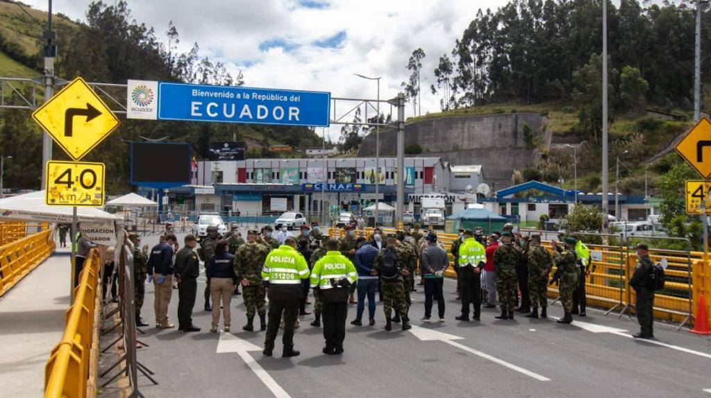 Perú y Colombia refuerzan sus fronteras con Ecuador ante la emergencia de Covid-19
