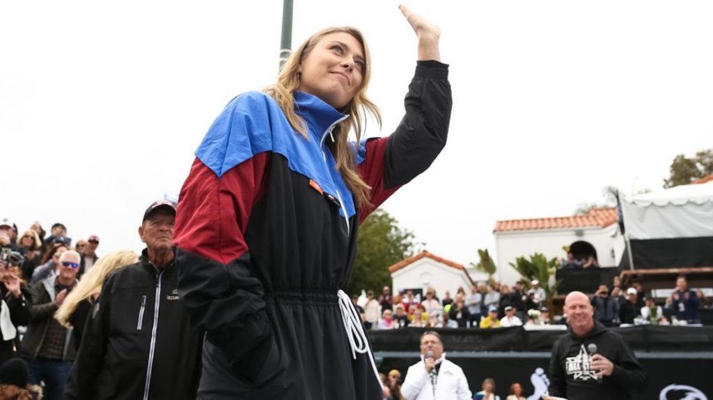 Sharapova hace púbico su número para estar en contacto con sus seguidores