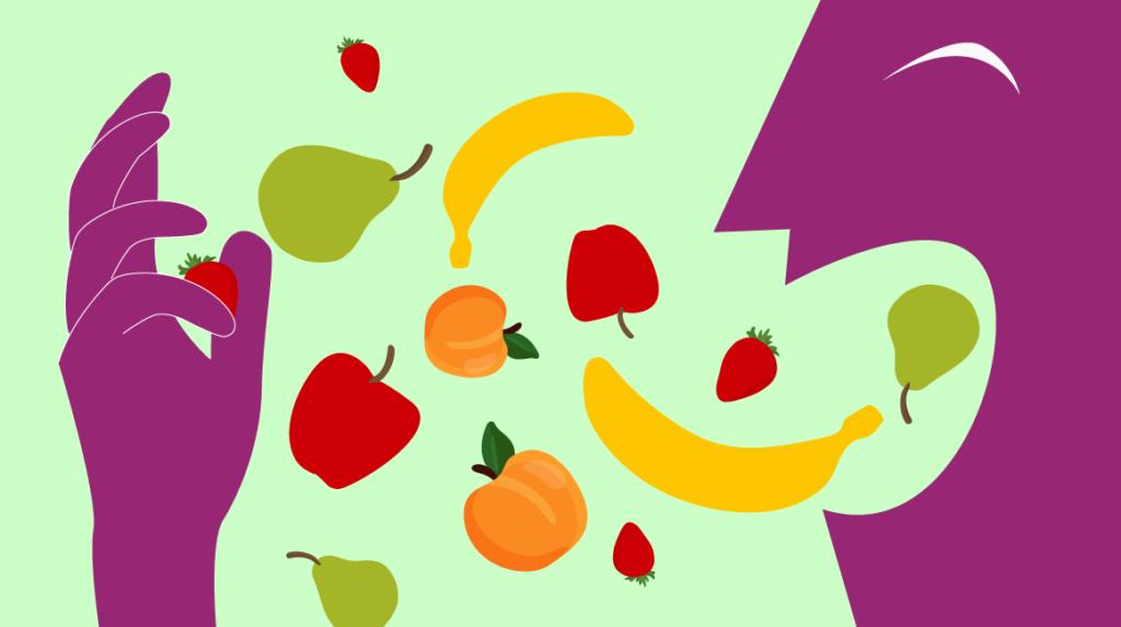 Las frutas son claves para una buena alimentación