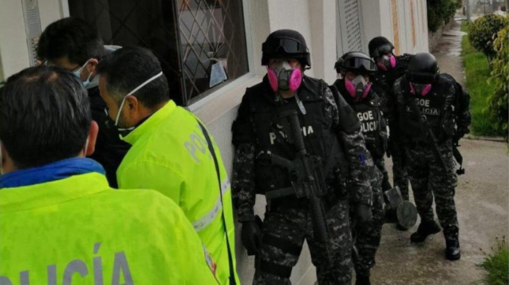 La Fiscalía realiza operativo 'a medias' por el caso 'mascarillas'