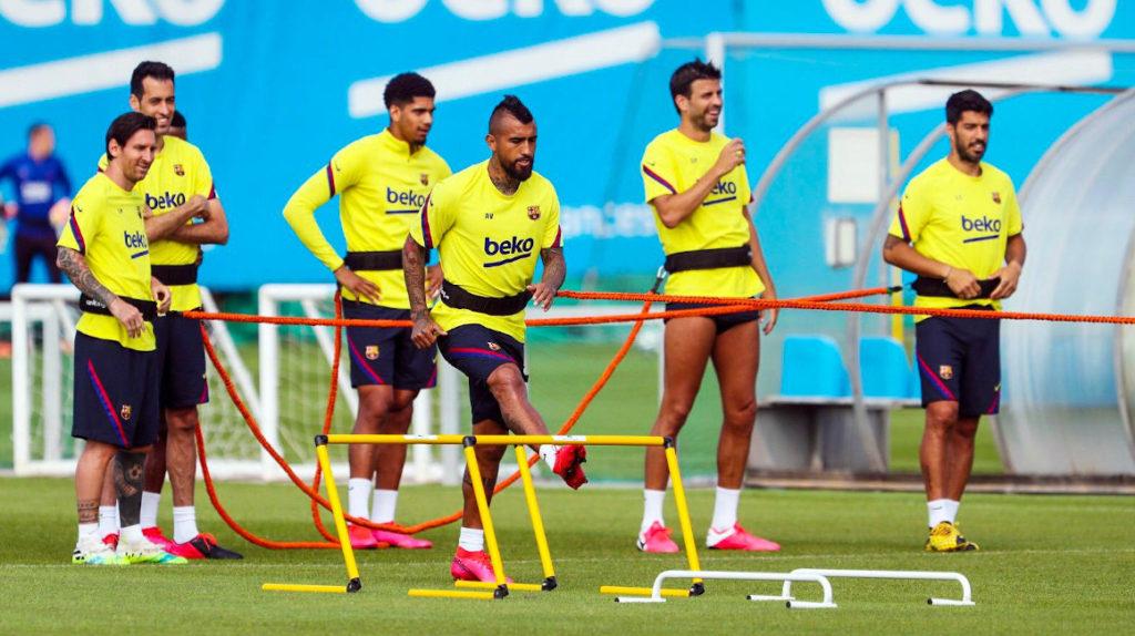 La Liga española iniciará los entrenamientos colectivos el lunes 1 de junio