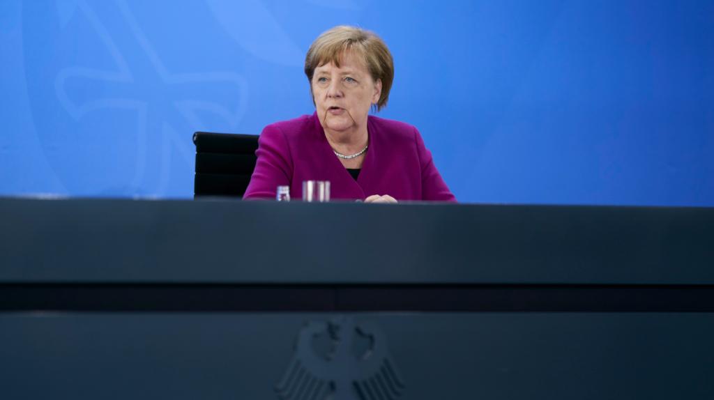 Merkel afirma que se necesita un acuerdo rápido de recuperación económica