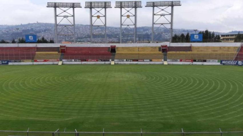 Fotografía del Estadio Gonzalo Pozo Ripalda.