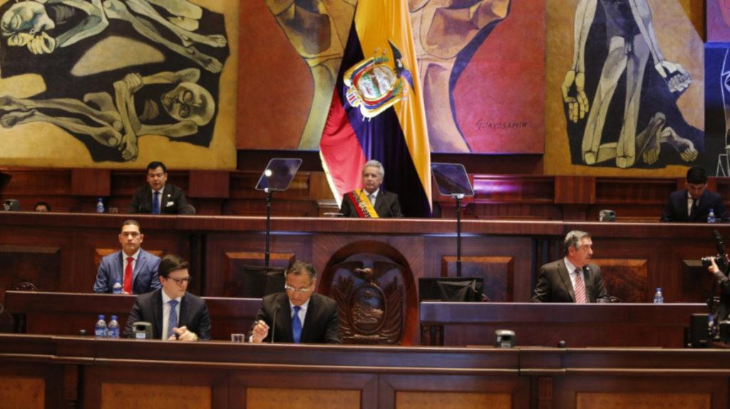 Lenín Moreno define cuatro ejes para su último año de gestión