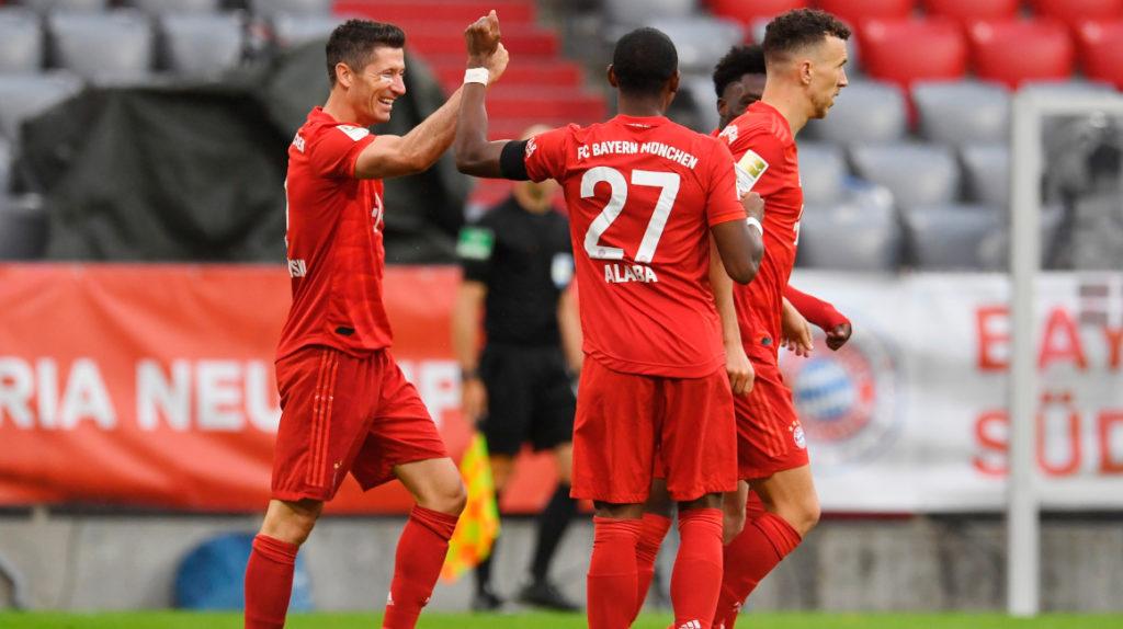 El Bayern es el puntero de la Bundesliga tras una goleada