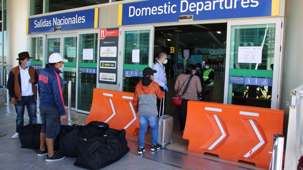 Listo protocolo para quienes lleguen a Ecuador por vía aérea