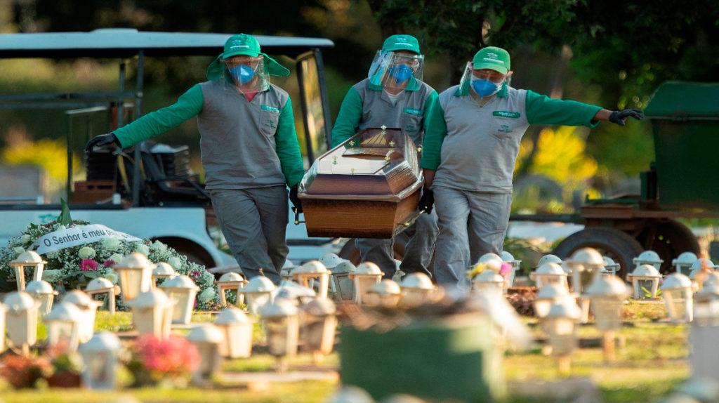 Brasil es el segundo país con más muertes por Covid-19