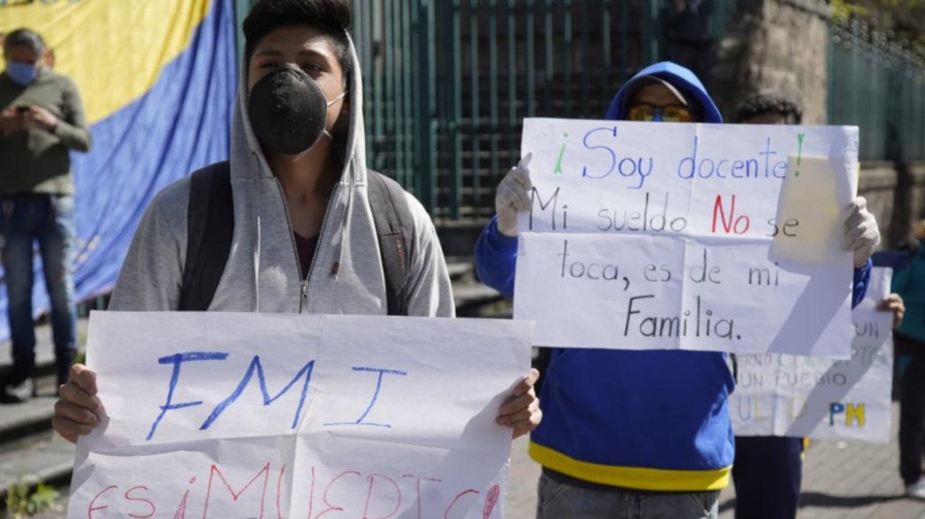 Corte Constitucional insta al Gobierno a respetar el derecho a la protesta pacífica