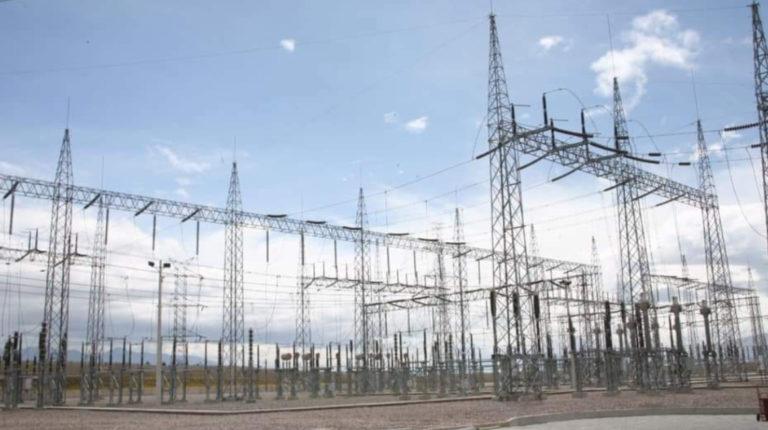 La Subestación Pomasqui, de Transelectric, es el punto de interconexión eléctrica con Colombia. Imagen de mayo de 2020.