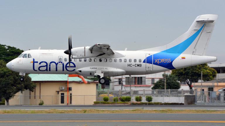 avión Tame