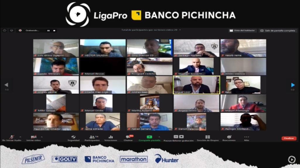 LigaPro aprueba el protocolo y volverá a los entrenamientos el 8 de junio